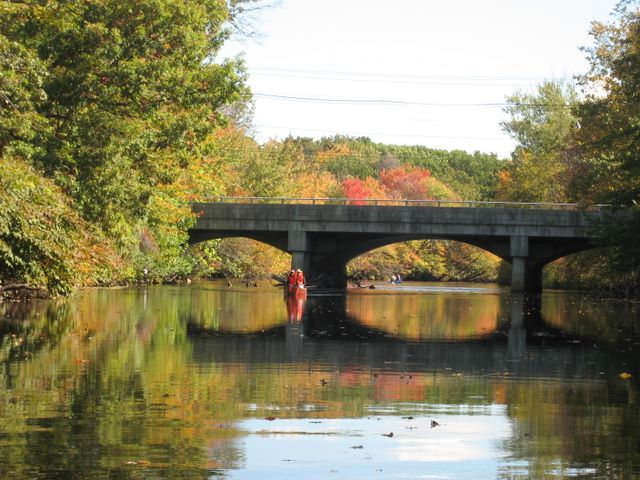 Pawtuxet River Canoe Day, Fall 2006