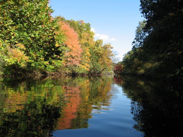 Pawtuxet River Canoe Day, Fall 2006